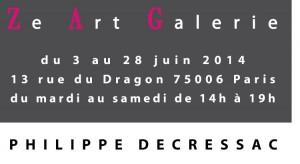 Corps de mail Decressac Paris 2014