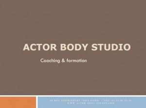 Actor Body Studio1