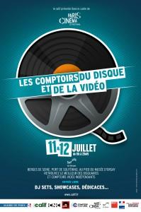 Affiche festival cine paris