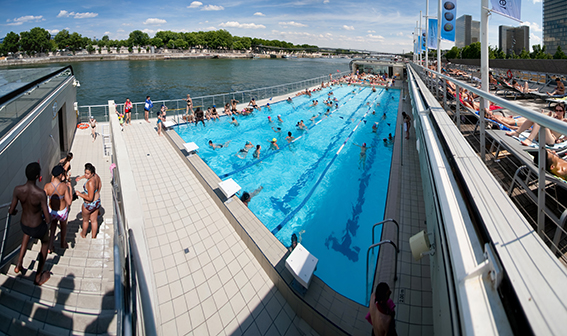 Piscines les nouvelles de paris for Piscine paris 13