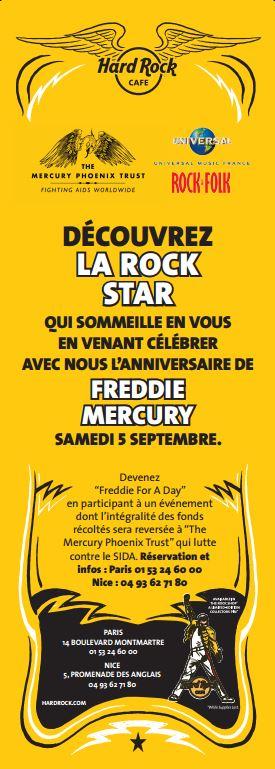Affiche Freddie for a Day
