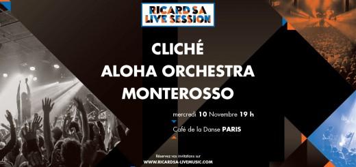 Ricard SA Live Session - 10nov au CDLD