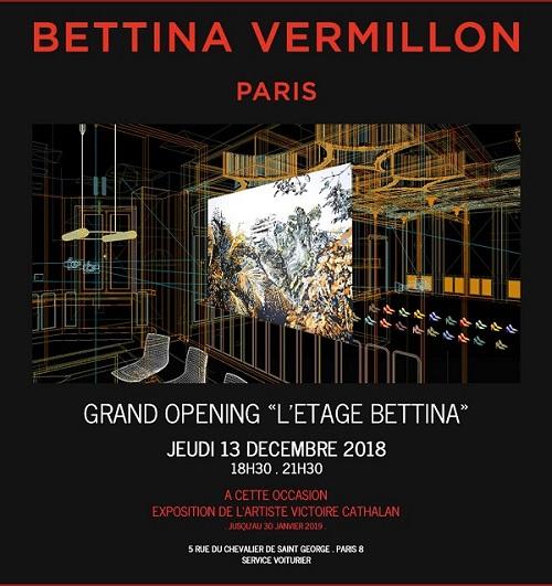 La Maison De Souliers De Luxe Bettina Vermillon A Inaugure L